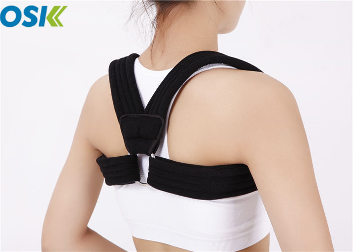 Medical Posture Support Brace Composite Cloth Dressing Type With Underarm Pads