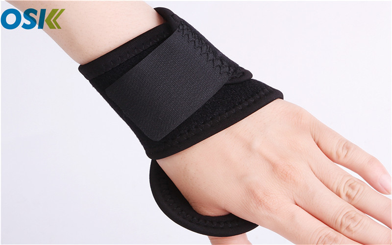 Neoprene Arm Support Brace Wrist Support Brace Customized Logo / Color